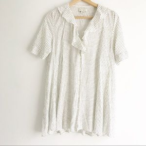 11 1 THYLO Ruffled Collar Blouse